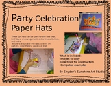 The New Year and Party Celebration Paper Hats
