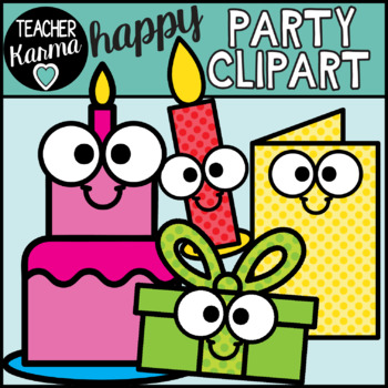 Party Clipart - Happy Style
