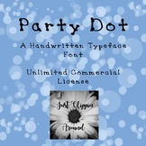 Party Dot Font - Unlimited Commercial Use