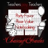 Party Favors Place Value Flapbook