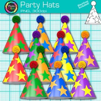 Party Hat Clip Art - Birthday & Holiday Clip Art - Photo Clipart