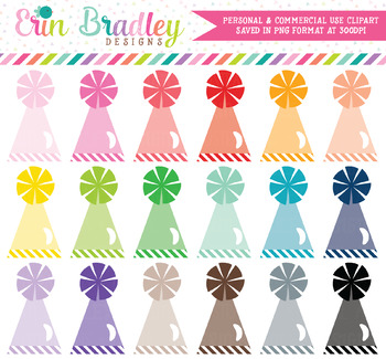 Party Hats Clipart