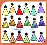 Party Hats Clipart / Birthday Hats Clipart / Hats Clipart
