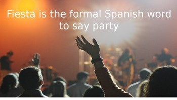 Party (Informal Spanish)