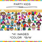 Party Kids Clip Art
