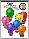 Party Light Bulbs Clipart
