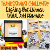 Party Like a Pilgrim Math and ELA Thanksgiving Challenge