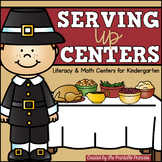 Thanksgiving Centers for Kindergarten   Math & Literacy