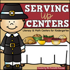 Party Like a Pilgrim - Thanksgiving Activities and Centers for Kindergarten