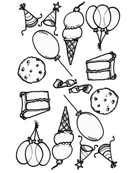 Party Math Daily Worksheets