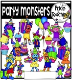 Party Monsters (The Price of Teaching Clipart Set)