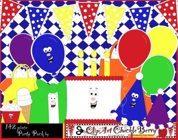 Party Pack by ClipArt ChuckleBerry