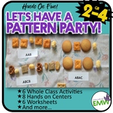 Number Patterns Math Activities, Centers, and Worksheets