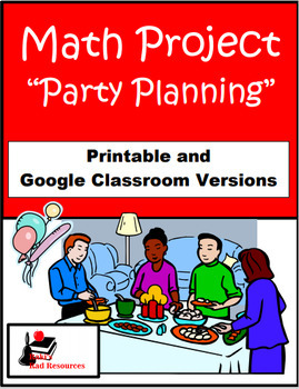 Party Planner - Math Project