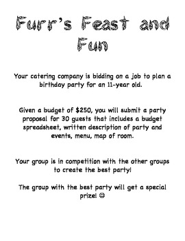 Party Planning Project