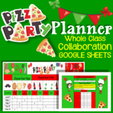 Party Planning Sign Up Sheet REAL PIZZA PARTY PLANNER