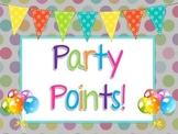 Party Points Label
