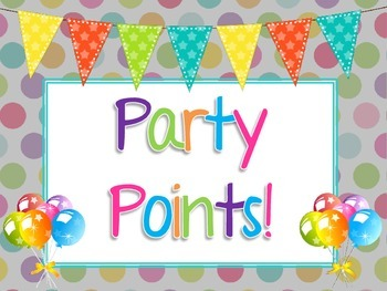 Party Points Label