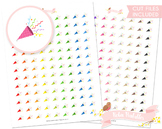Party Popper Printable Planner Stickers