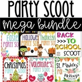 Party Scoot Mega Bundle (Over 200 Holiday Themed Task Cards!)