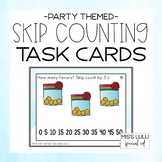 Party Skip Counting Task Cards