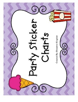 Party Sticker Chart
