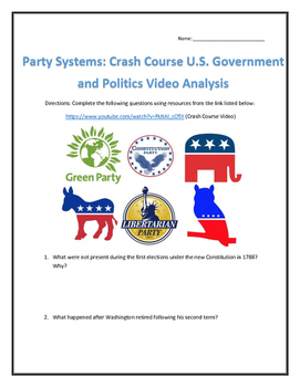 Party Systems: Crash Course U.S. Government and Politics Video Analysis