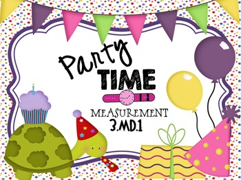 Party TIME PPT Game: Measurement and Data 3.MD.1