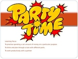 Party Time - Maths Budgeting Task