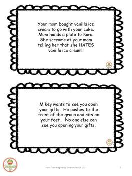 Social Skills: Birthday Party