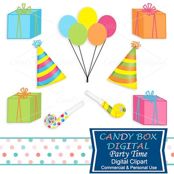 Party Time and Birthday Clip Art