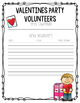 Party Volunteer Sign Up