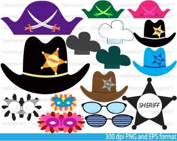 Party accessories, Booth Props Clip Art school kid birthday halloween -034-