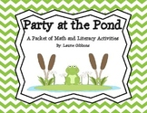Party at the Pond ~ Spring Math and Literacy Activities