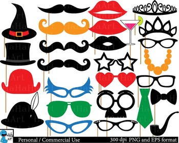 Party booth props ClipArt Personal, Commercial Use 135 PNG images cod101