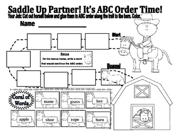 Party with ABC Order!