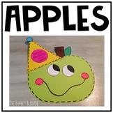 Apples-Craftivity for Johnny Appleseed's Birthday!  {FREEBIE!}