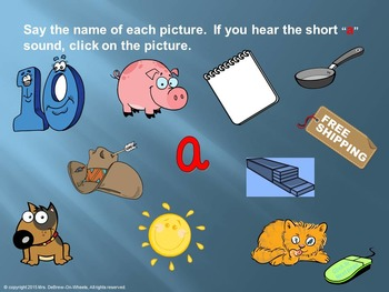 Short Vowels