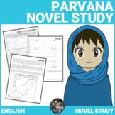 Parvana Novel Study (Deborah Ellis' Breadwinner series)