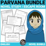 Parvana Novel Study and Escape Room