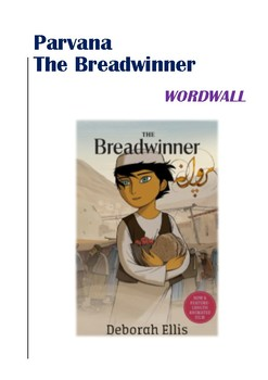 Parvana / The Breadwinner Word Wall Words