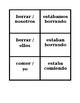 Pasado Progresivo (Spanish Past Progressive) Concentration Games