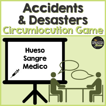Realidades Spanish 2 vocab 5A 5B Bundle Pasapalabras cicumloqution game