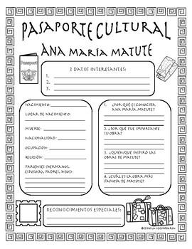 Pasaporte Cultural - Ana María Matute