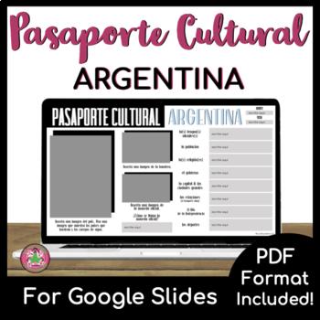 Pasaporte Cultural - Argentina