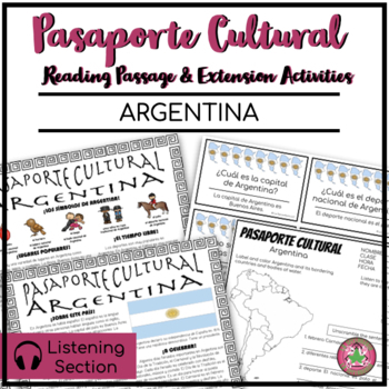 Pasaporte Cultural - Argentina Reader