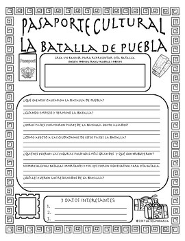 Pasaporte Cultural - Battle of Puebla