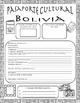 Pasaporte Cultural - Bolivia