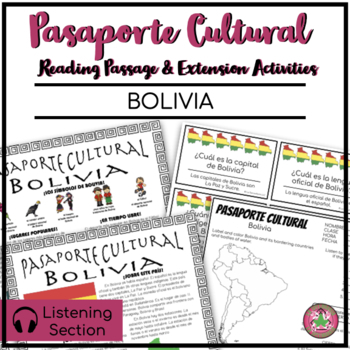 Pasaporte Cultural - Bolivia Reader