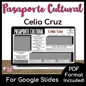 Pasaporte Cultural - Celia Cruz